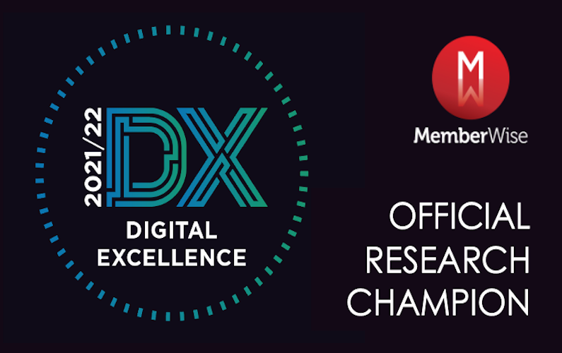 Official MemberWise Digital Excellence (2021) Research Champion